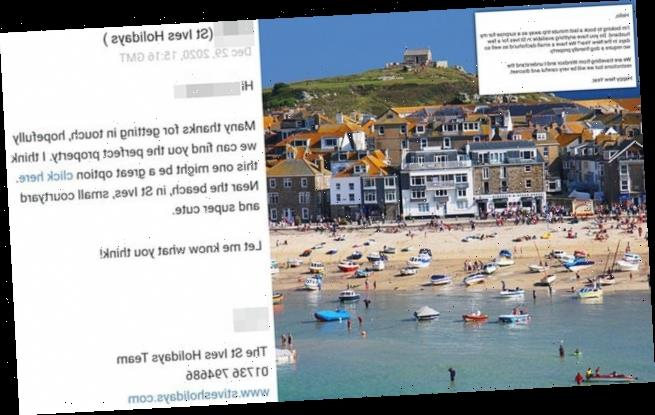 Holiday lettings firm apologises for 'encouraging' Covid rule breaches