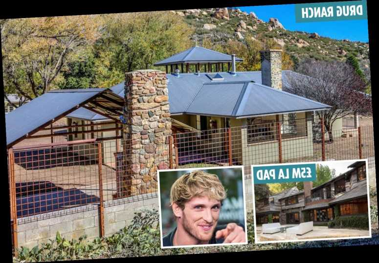 Logan Paul's amazing homes includes drug guru Timothy Leary's desert ranch and a stunning £5m LA mansion – The Sun