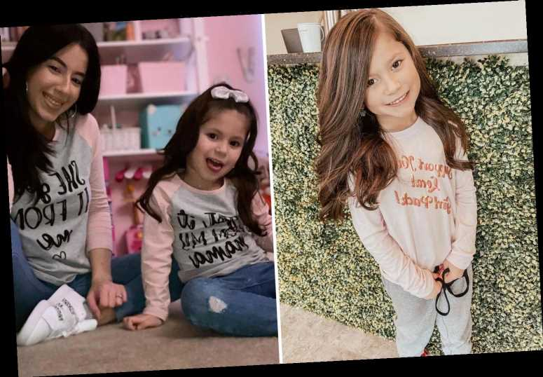 Teen Mom star Vee Rivera shares rare photo of daughter Vivi, 5, looking all grown up at the hair salon