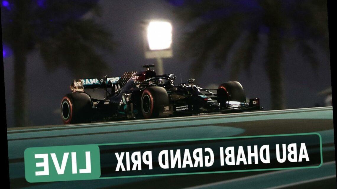 F1 Abu Dhabi Grand Prix LIVE: Final practice, Lewis Hamilton RETURNS at Yas Marina – latest updates, results