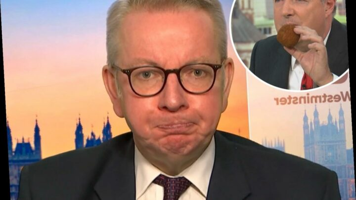 Piers Morgan slams government for 'not knowing their own Covid rules' – but Michael Gove fires back blasting GMB ratings
