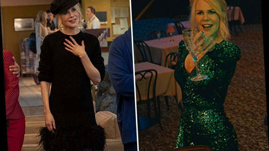 Age-defying Nicole Kidman dazzles in plunging dress in pics from new Netflix movie The Prom