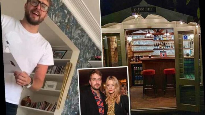 Laura Whitmore moves in with Love Island's Iain Stirling and shares pics of 'first supper' in new home