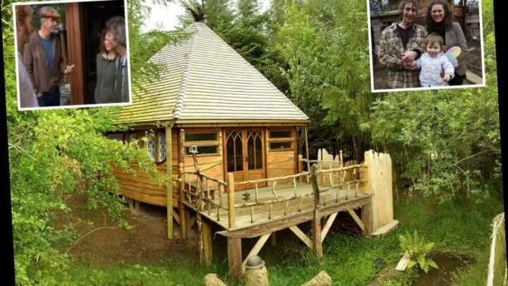 Eco-builder who refused to pay £850 fine over tree house home praised by Grand Designs presenter Kevin McCloud is JAILED