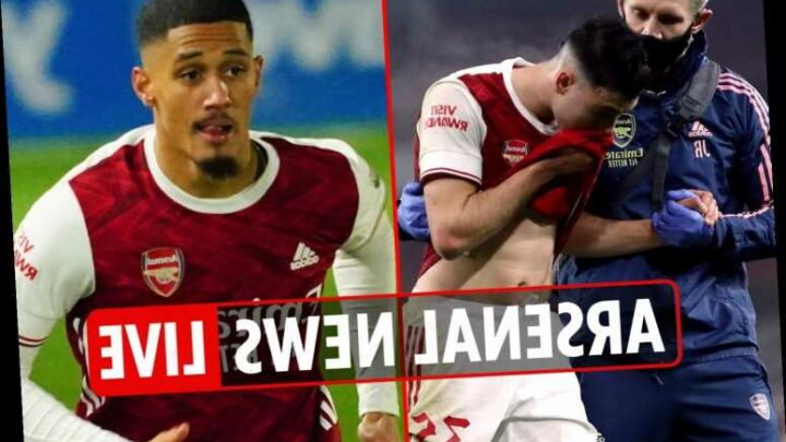 1pm Arsenal transfer news LIVE: Martinelli injury update, Xavi on Gunners job, Isco wants move abroad, Saliba latest