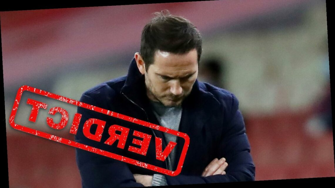Frank Lampard must be held accountable as selections let Chelsea down again in Arsenal mauling