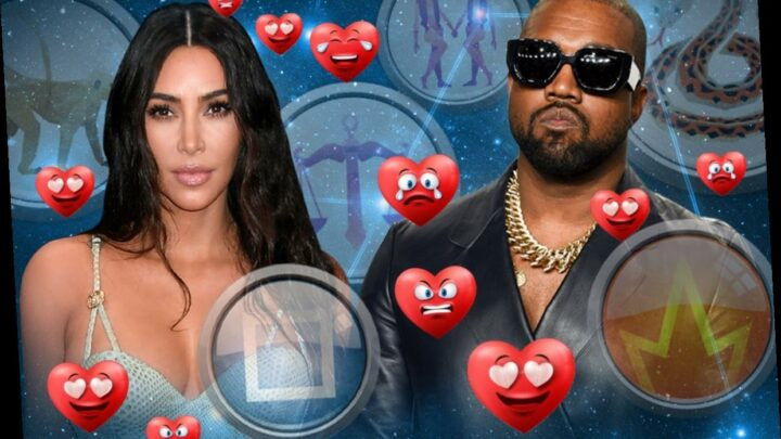 Are Kim Kardashian and Kanye West's Chinese horoscope signs compatible?