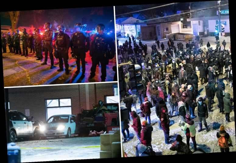 Minneapolis protests erupt as police shoot and kill man just one mile from where George Floyd died