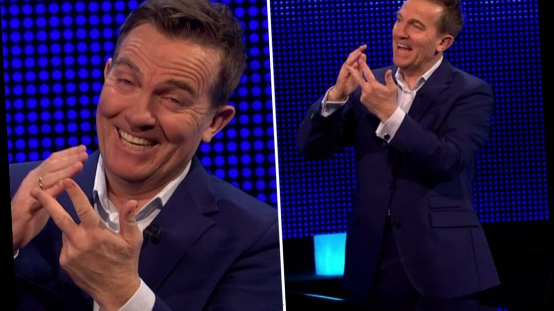 The Chase's Bradley Walsh in hysterics as he fails to get the Royals Family's names right