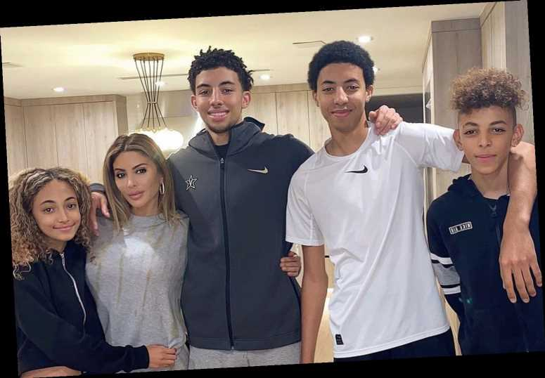 How many kids does Larsa Pippen have?