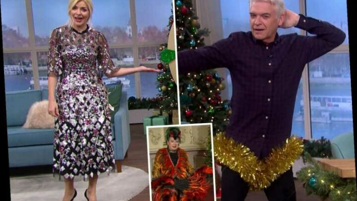 This Morning fans shocked as Holly and Phillip trade filthy innuendos about 'D**k' during panto interview