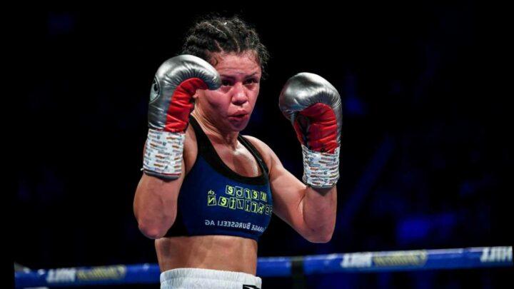 Female boxer Viviane Obenauf, 34, 'bludgeons her rich hotelier husband, 61, to death in their flat'