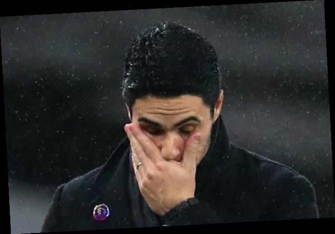 Arsenal even being trolled by Prem fixture list after worst start to season since 1970s under Mikel Arteta