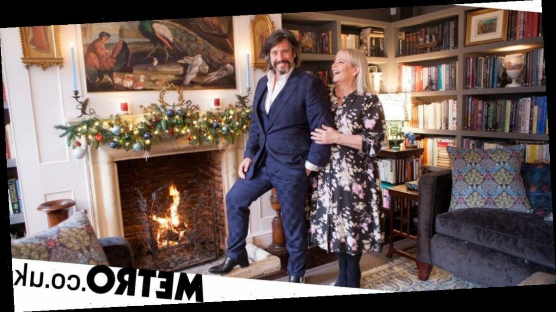 Laurence Llewelyn-Bowen on decorating for Christmas and Changing Rooms' return