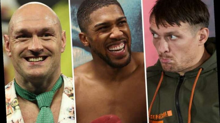Anthony Joshua and Tyson Fury undisputed plans hit as WBO insist AJ fights Oleksandr Usyk in mandatory defence