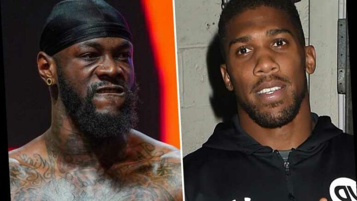 Anthony Joshua offers Deontay Wilder bout 'when he's man enough not to lie' and slams rival for 'trying to tarnish' name