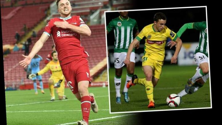 Diogo Jota was passed up by Portuguese club for just £2,000 seven years before his dream £45m Liverpool move