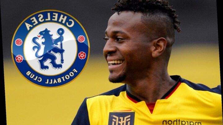 Chelsea look to steal Moises Caicedo from Man Utd as Lampard makes £4.5m transfer Ecuador midfielder, aged 19