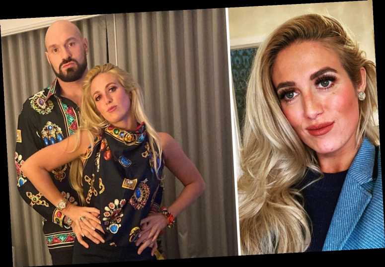 Tyson Fury and wife Paris wear matching £1k Versace outfits for date night following family Christmas