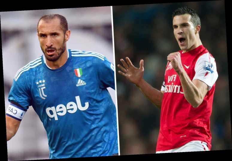 Robin van Persie reveals he begged ex-Arsenal boss Wenger to sign Juventus 'killer' Giorgio Chiellini