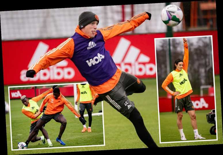 Man Utd to hold training session on Christmas Day ahead of Leicester clash… but festive lunch axed due to coronavirus