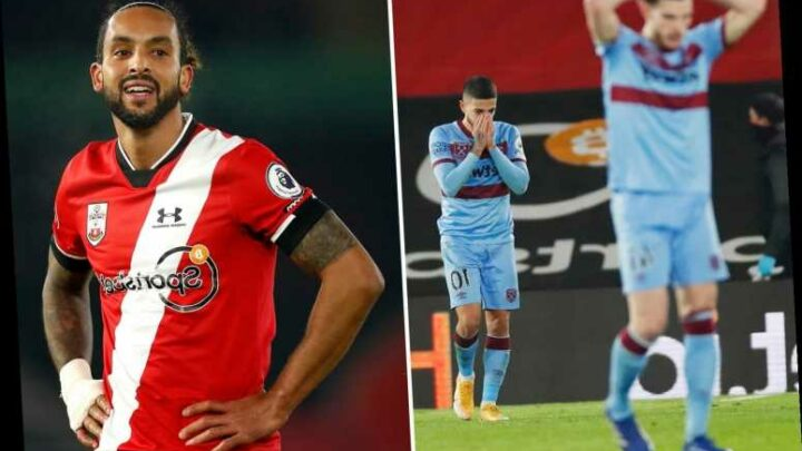 Southampton 0 West Ham 0: Alex McCarthy save denies Hammers win over Saints in bore draw on south coast