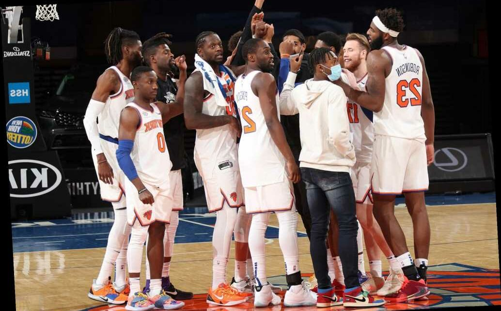 The Knicks needed this unexpected demolition