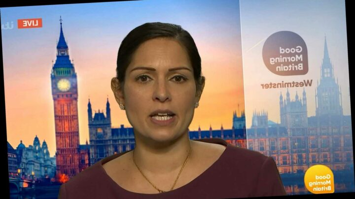 Priti Patel urges people to call police on their neighbours if they break Christmas rules