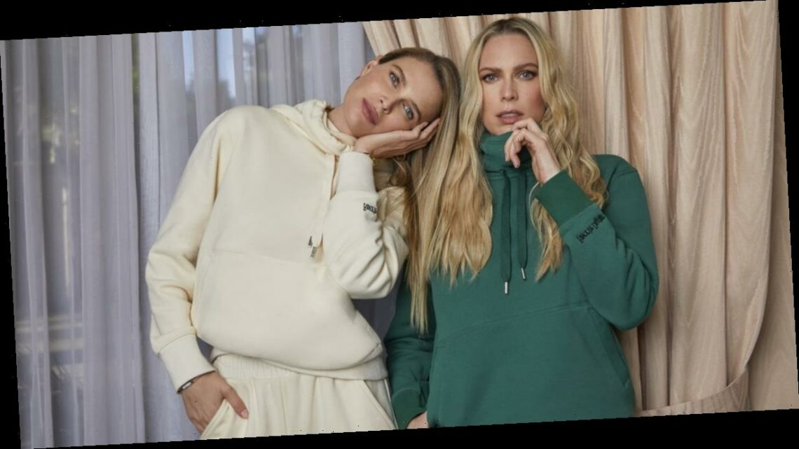 """Erin and Sara Foster Just Launched a Clothing Line With a """"COVID Considerate"""" Masked Hoodie"""