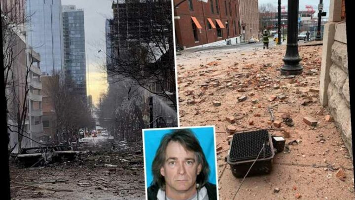 Nashville bomber 'claimed he had CANCER' and thought he'd be 'hailed a hero' for Christmas Day blast
