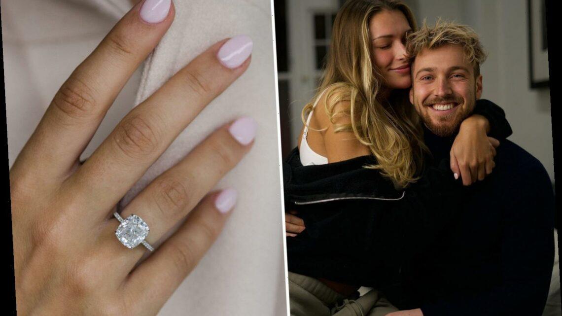 Zara McDermott reveals her dream engagement ring after boyfriend Sam Thompson's dating app bombshell