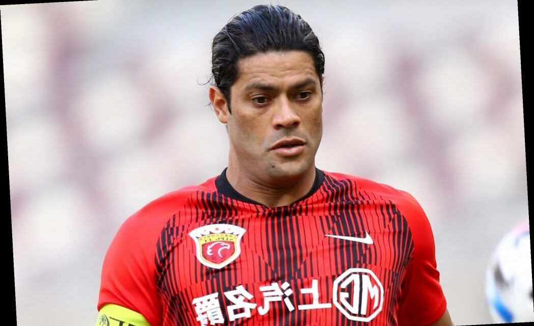 Hulk willing to take staggering 90 per cent pay cut to play for next club amid Premier League transfer offers