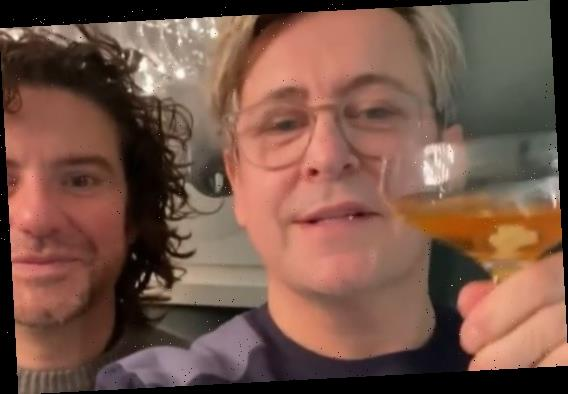 Gogglebox's Stephen Webb and his husband down cocktails on boozy break from Channel 4 show