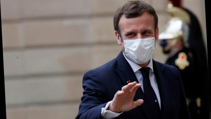 Emmanuel Macron tests positive for Covid and is self-isolating for seven days