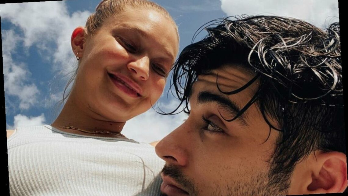 Gigi Hadid Shares New Photos from Her Pregnancy, Including One with Zayn Malik!