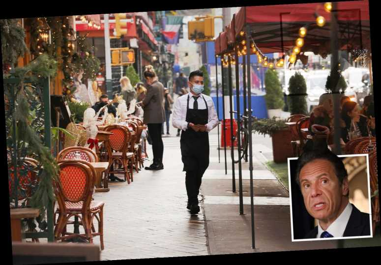 Andrew Cuomo reverses Covid rule BANNING outdoor diners from using inside bathrooms in New York