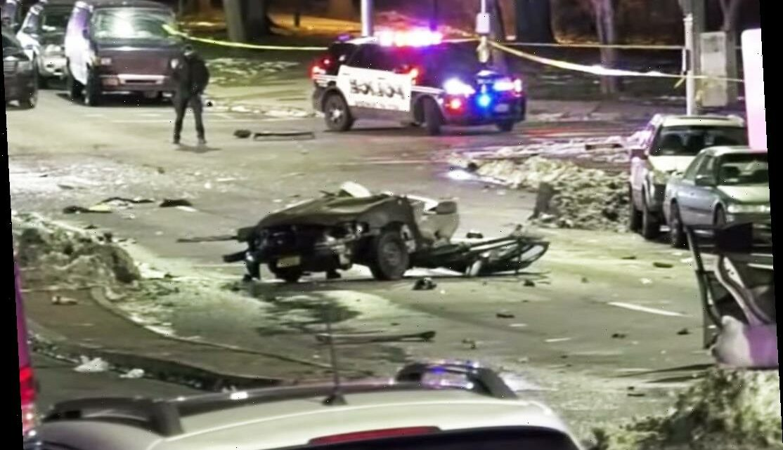 4 Recent High School Grads Killed When Driver Fleeing Police Slams Into Car, Splitting Vehicle in 2