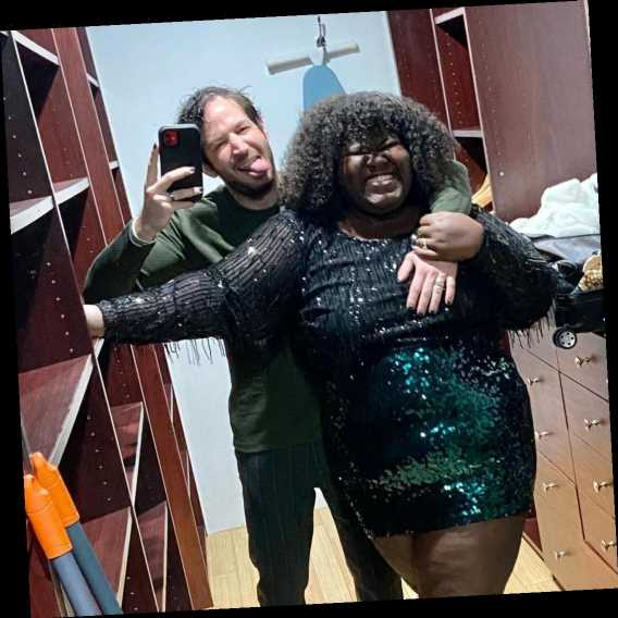Gabourey Sidibe's Fiancé Brandon Frankel Toasts to Their 'Amazing Year' in Sweet Holiday Message