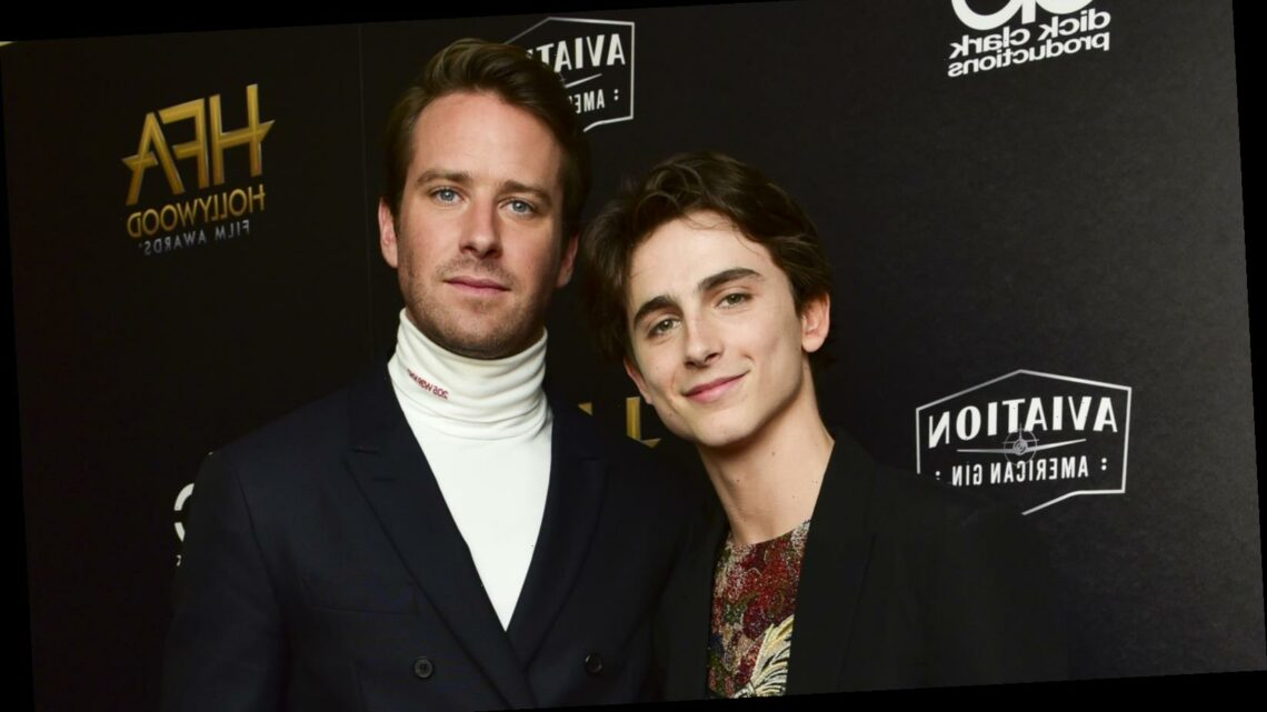 The truth about Armie Hammer and Timothee Chalamet's relationship