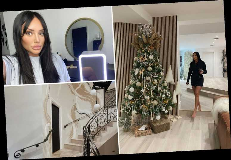 Inside Charlotte Crosby's renovated Sunderland mansion with brand new kitchen and stunning Christmas decorations