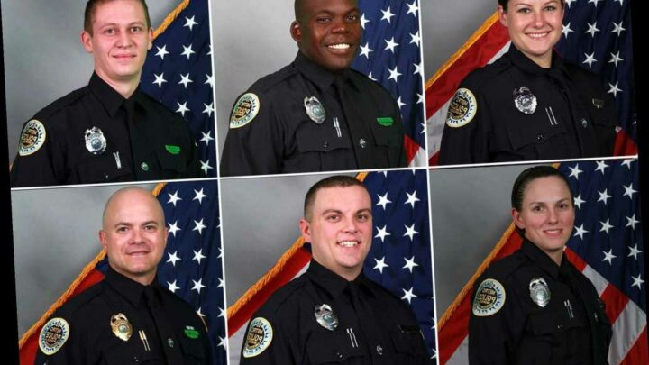 Nashville names hero cops who cleared area before Christmas bombing