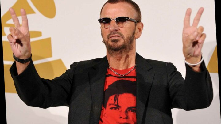 Ringo Starr drops New Year's video for new Diane Warren-penned tune