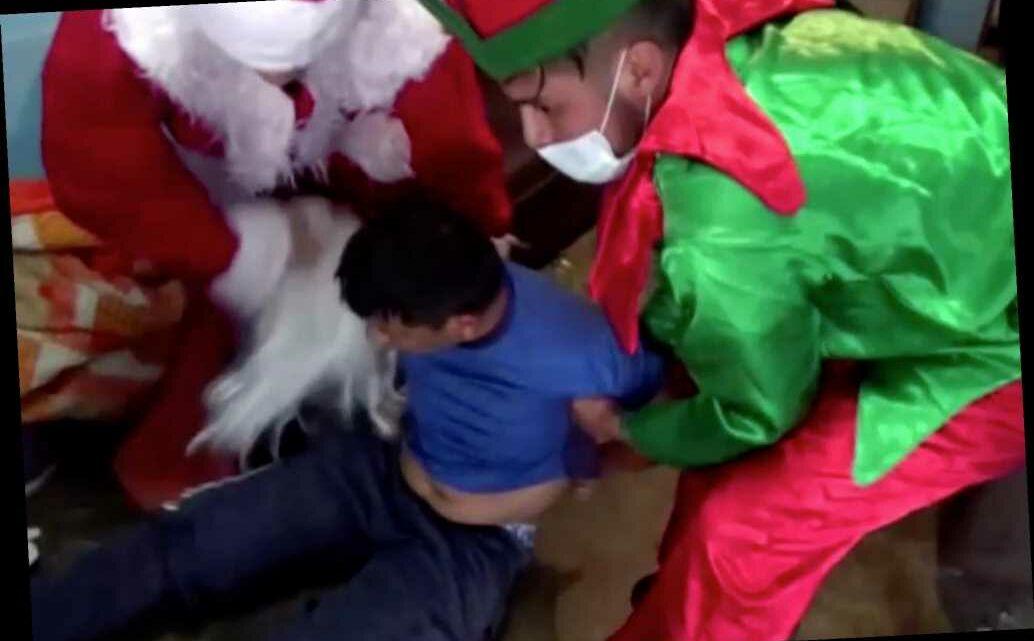 Peruvian cops dressed as Santa Claus, elf have last laugh in drug raid