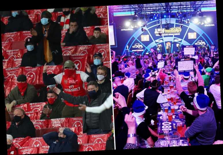 Disaster for Darts World Champs with fans allowed in for just ONE night as London heads into Tier 3 and PL also hit