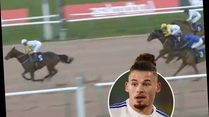 Watch horse named Yorkshire Pirlo after Leeds star Kalvin Philips defy massive 190-1 odds to win race easily