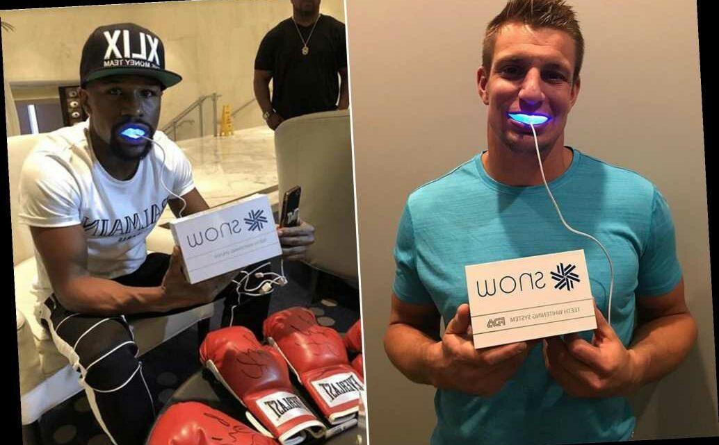 Floyd Mayweather, Rob Gronkowski endorsed bogus teeth whitening lights: suit