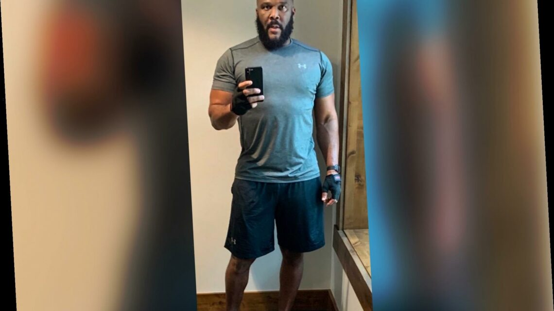 Tyler Perry posts thirsty photo revealing he's single and having a midlife crisis