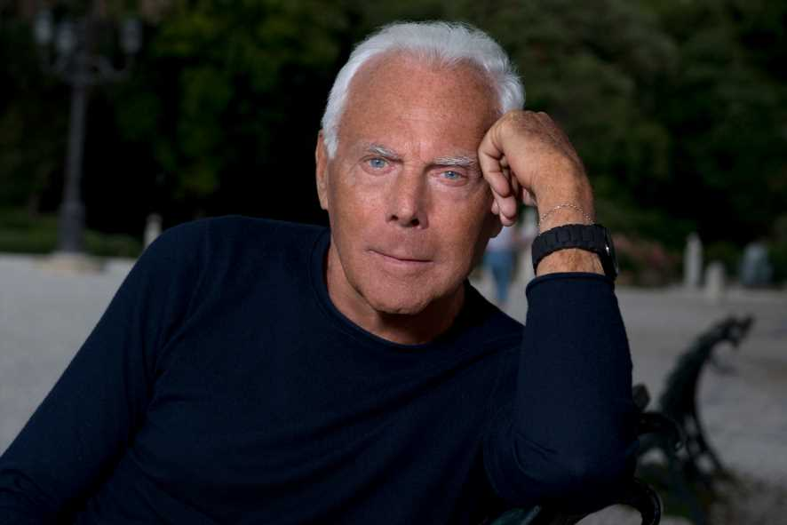 Giorgio Armani to Celebrities: 'No More Creations Worn Only Once'