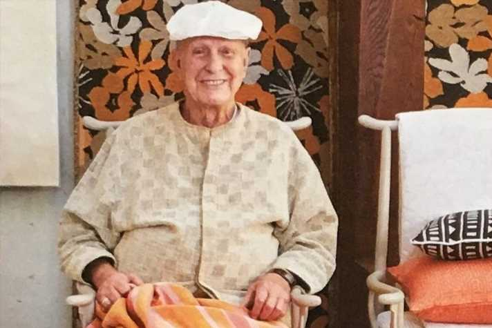 Textile Designer and Weaver Jack Lenor Larsen Dies at 93