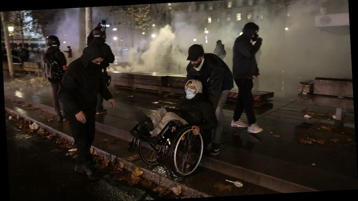 Paris sees second weekend of protests, violence over controversial security law